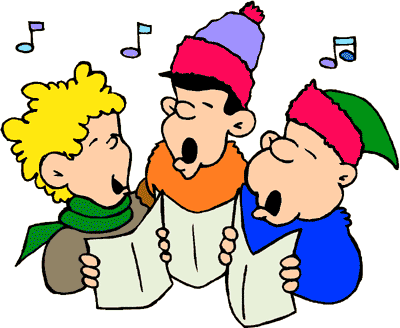 Free Carolers Clipart