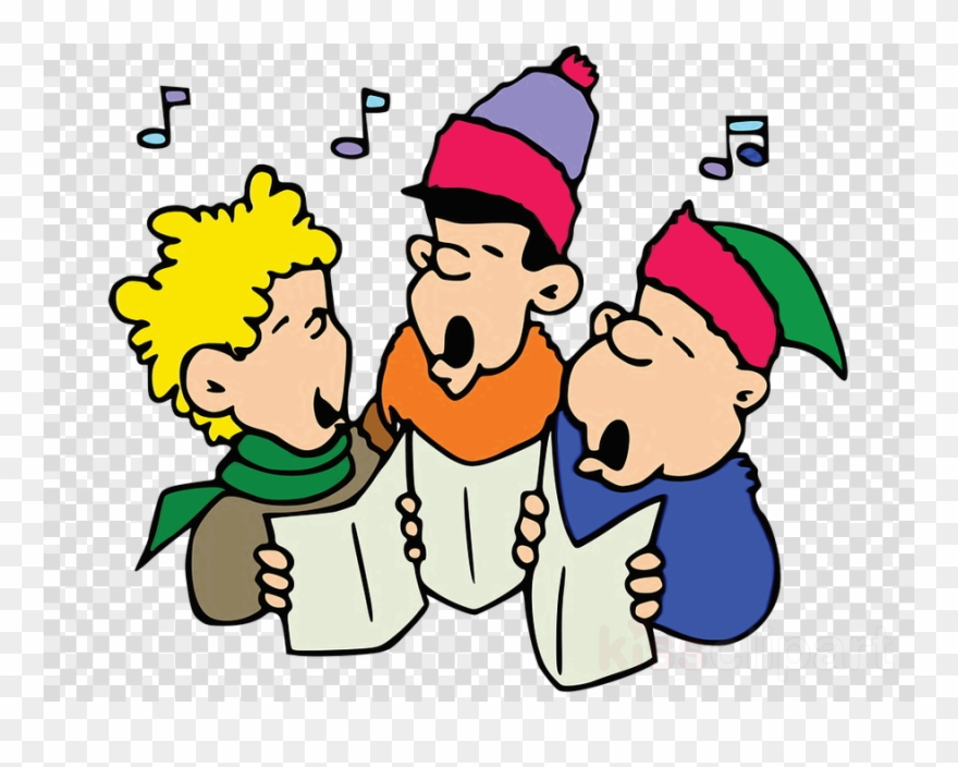 For cans christmas carolers. Caroling clipart transparent