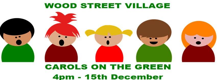 Carols on the green. Caroling clipart village