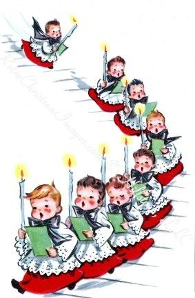 best christmas bells. Caroling clipart vintage