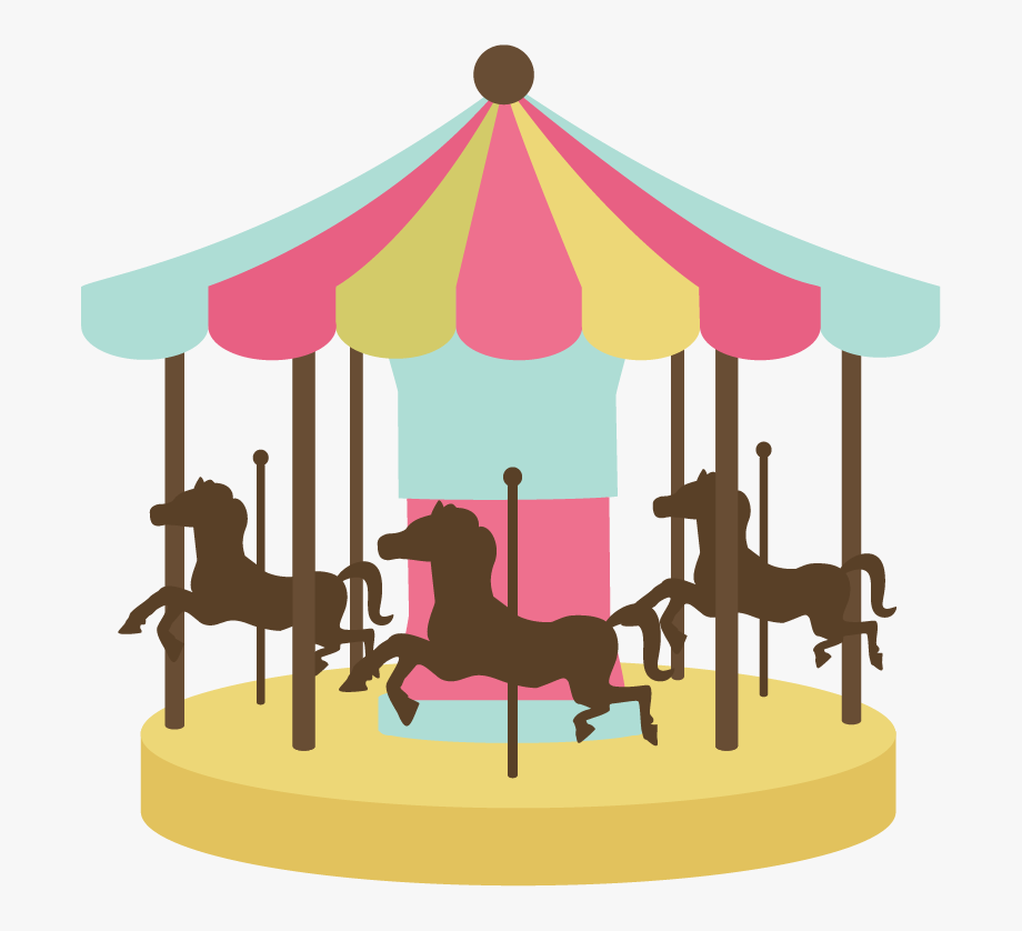 Fairground png free . Carousel clipart