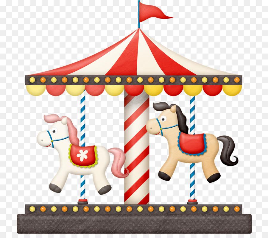 Carousel clipart background image. Christmas horse park
