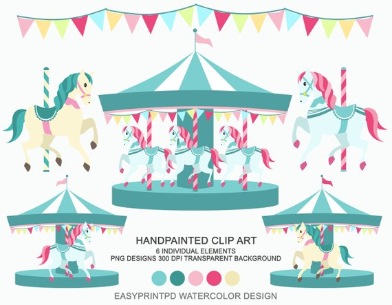 carousel clipart background image
