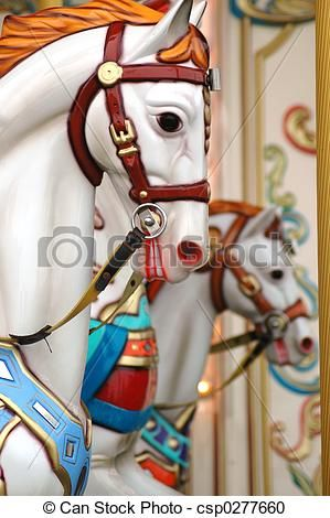Carousel clipart carousal. Merry go round horse
