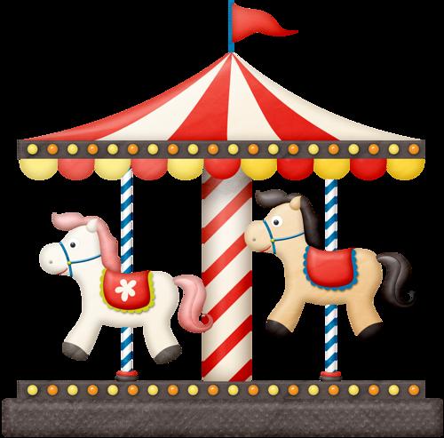 carousel clipart circus