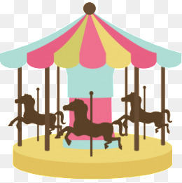 Carousel clipart colorful. Png images vectors and