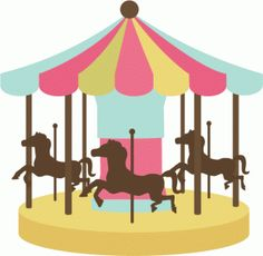 Carousel clipart merry go round. Horse diy pinterest svg