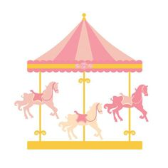 Carousel clipart pink. Horse svg free download