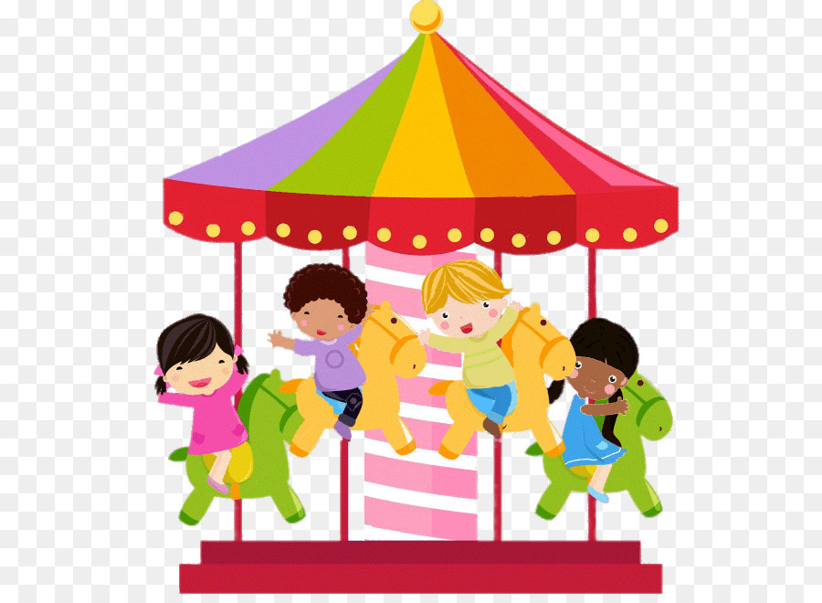 Cartoon png download free. Carousel clipart playground