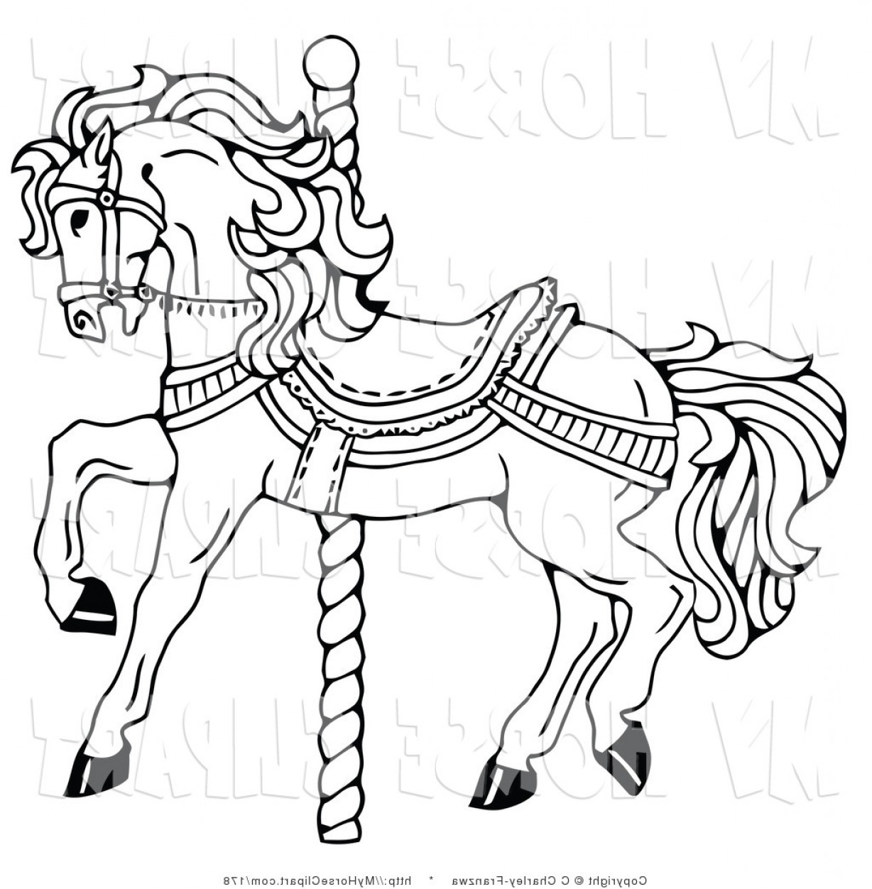 Carousel Clipart Pole Carousel Pole Transparent Free For Download On Webstockreview 2020