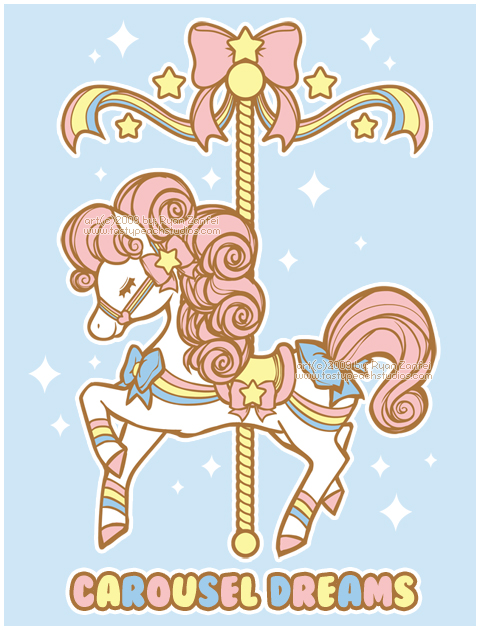 Dreams by mooglegurl on. Carousel clipart pretty baby