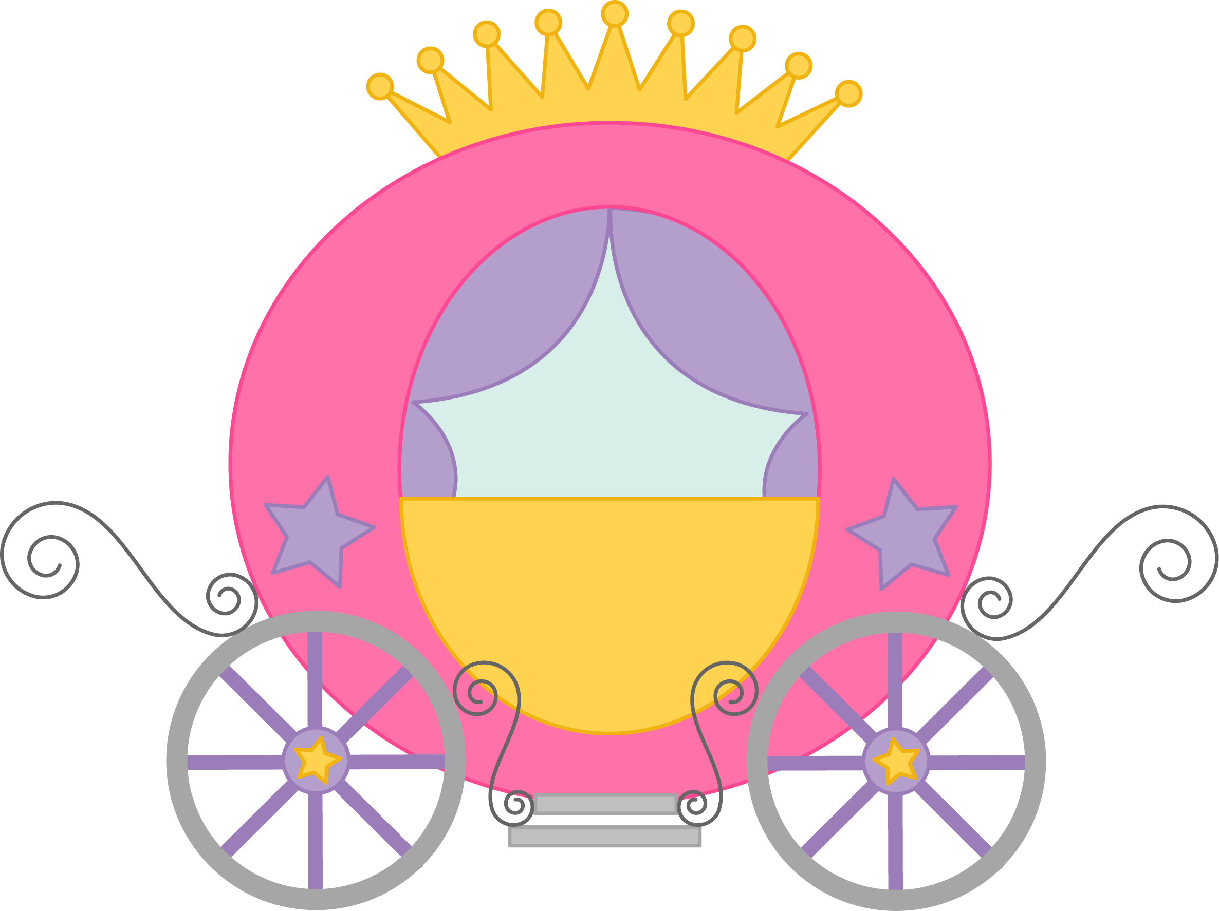 Wagon clipart history.  collection of princess