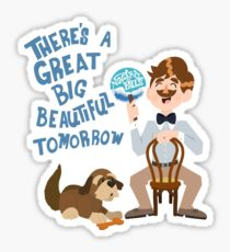 Carousel clipart progress. Stickers redbubble man has