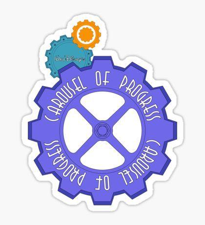 Orlando stickers and disney. Carousel clipart progress