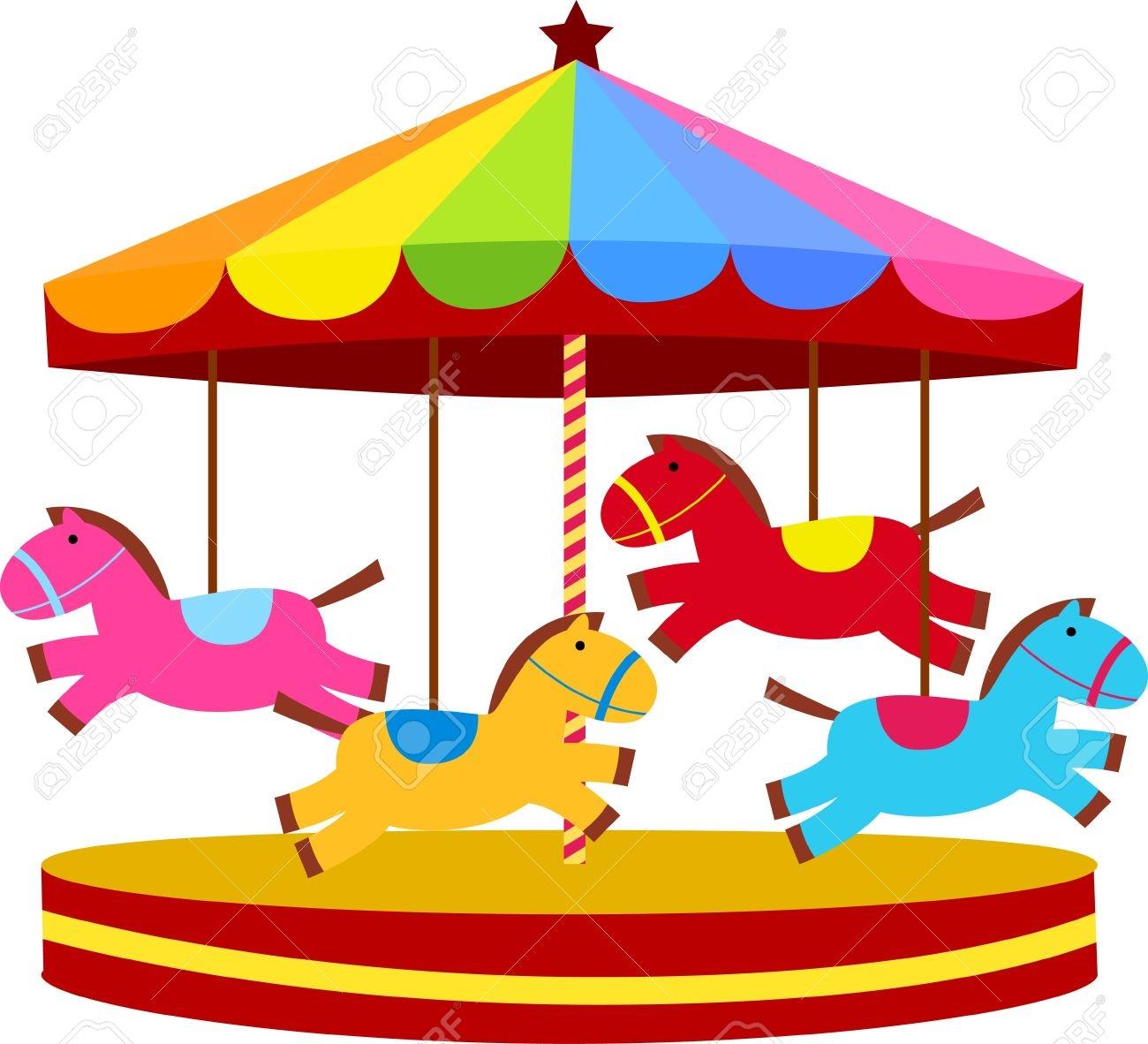 carousel clipart simple