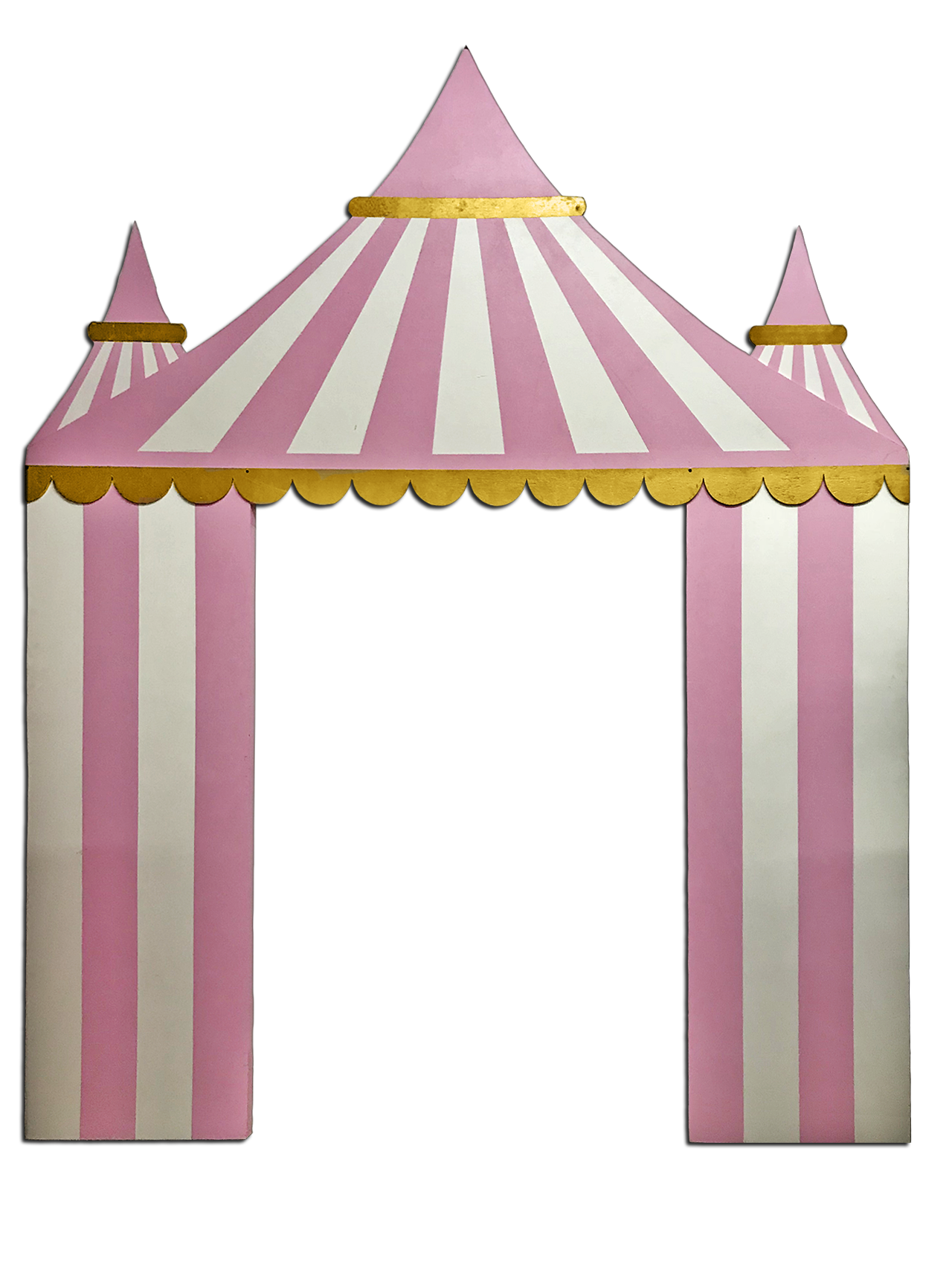 Carnival backdrop platinum prop. Carousel clipart tent circus pink