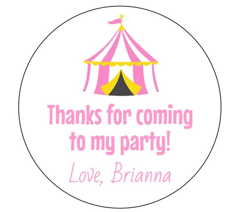Carousel clipart tent circus pink.  stickers first birthday