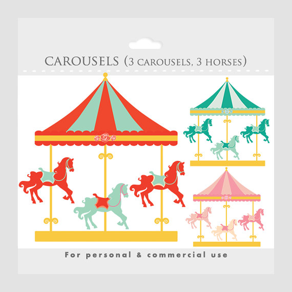 Carnival clipart merry go round. Carousel clip art