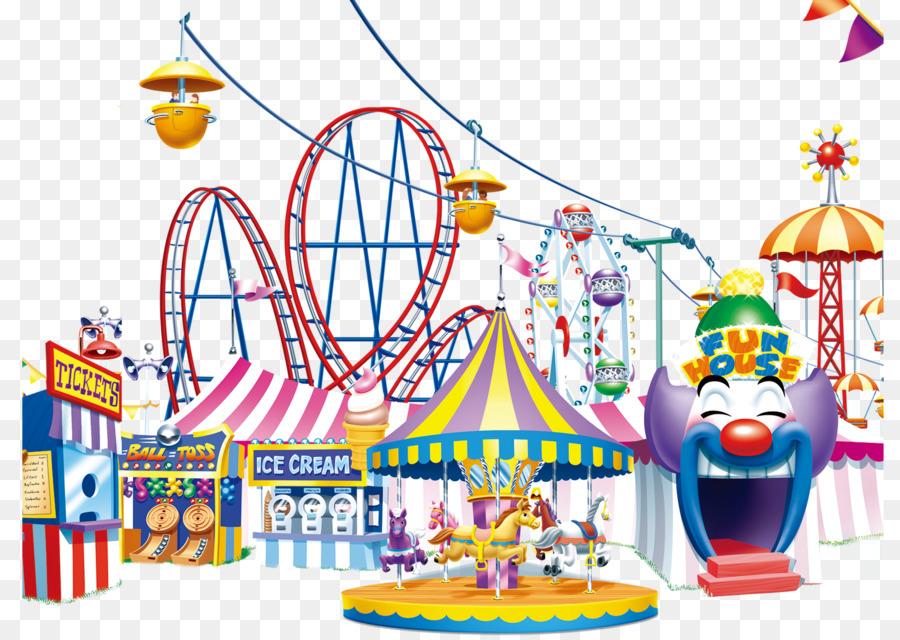 Amusement happy png download. Carousel clipart theme park