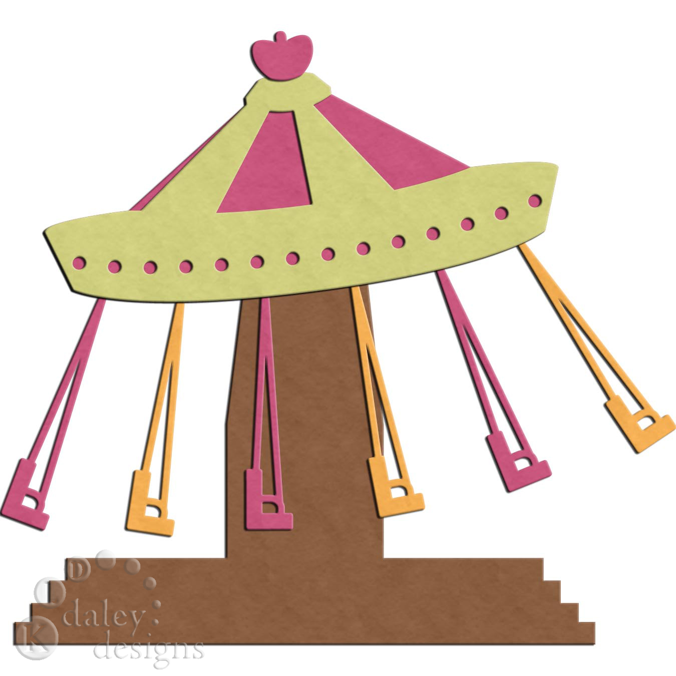 Carousel clipart theme park. Silhouette at getdrawings com