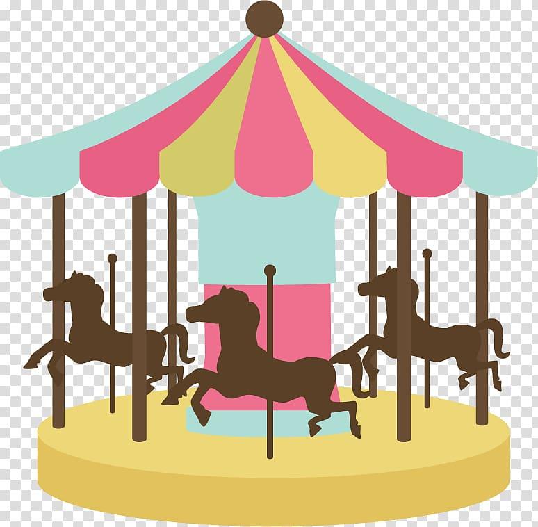 Carousel clipart theme park. Horse ferris transparent background