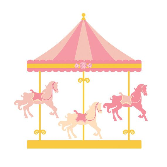 Fair clipart mary go round. Free carousel horse download