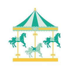 By veronica alvarez pinterest. Carousel clipart victorian carousel