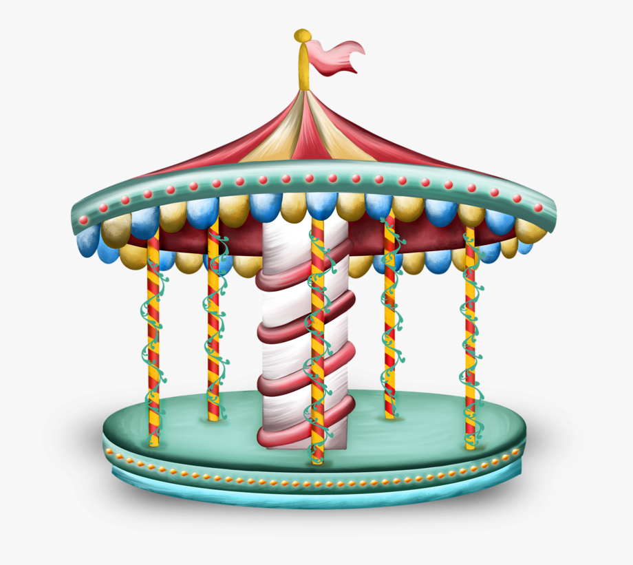 Background transparent . Carousel clipart victorian carousel
