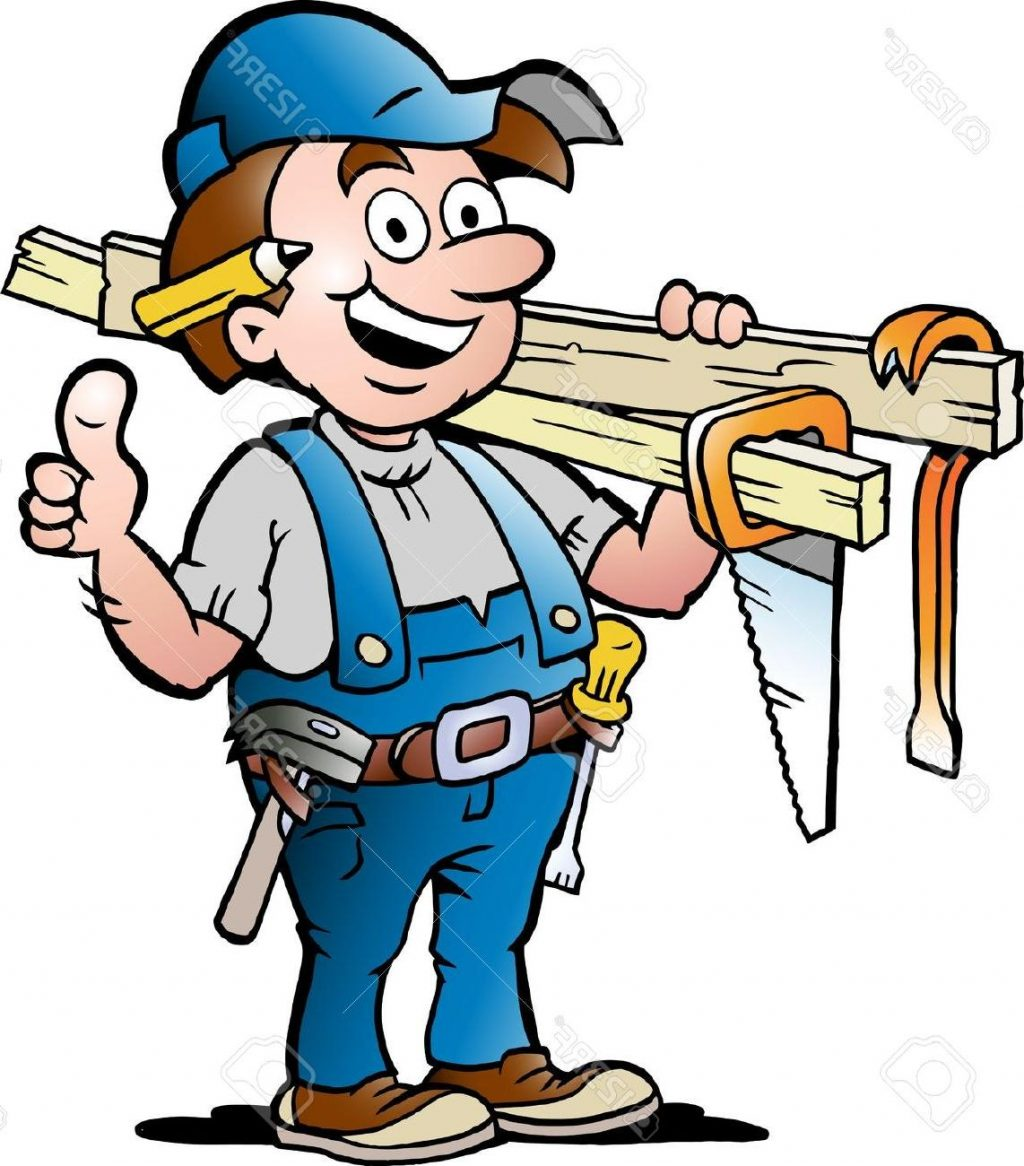 Carpenter clipart. Cilpart neoteric top library