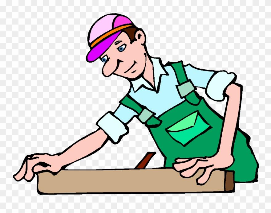 Carpenter clipart. Free clip art png
