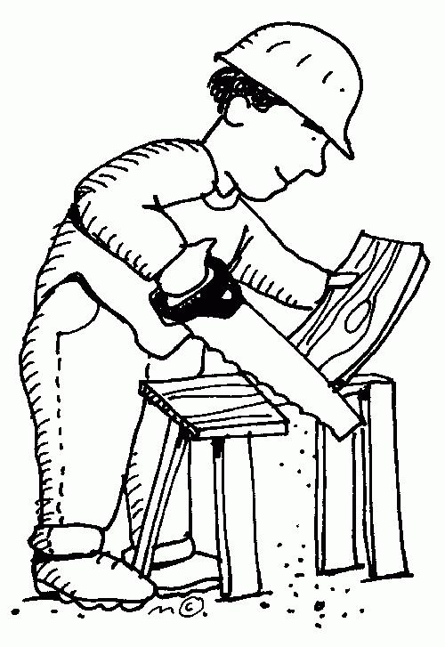 Carpenter clipart black and white. Best of letter master