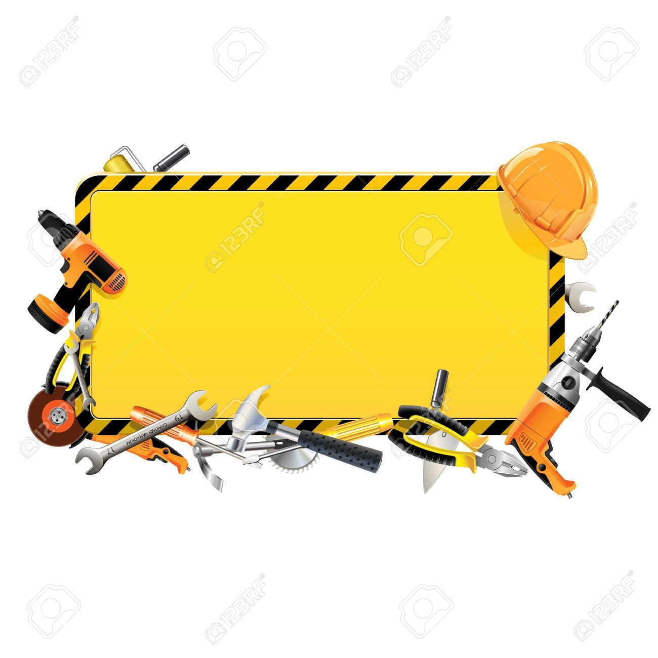 Image result for tool. Carpentry clipart border