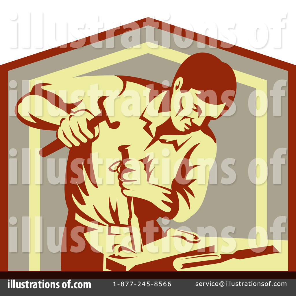Carpenter illustration by patrimonio. Carpentry clipart builder