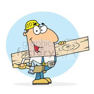 Carpentry clipart clip art. Carl the carpenter royalty