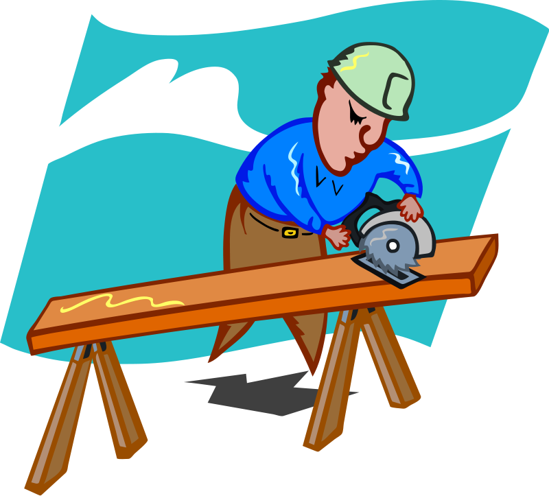 Lady clipart carpenter. Professional station