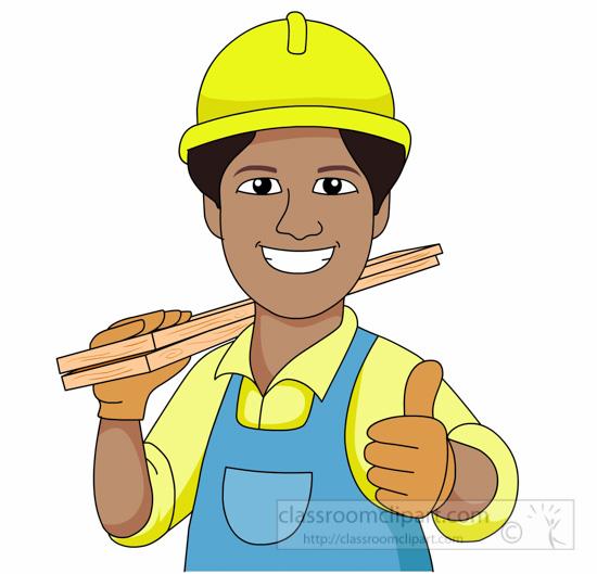 Free construction clip art. Carpenter clipart contractor