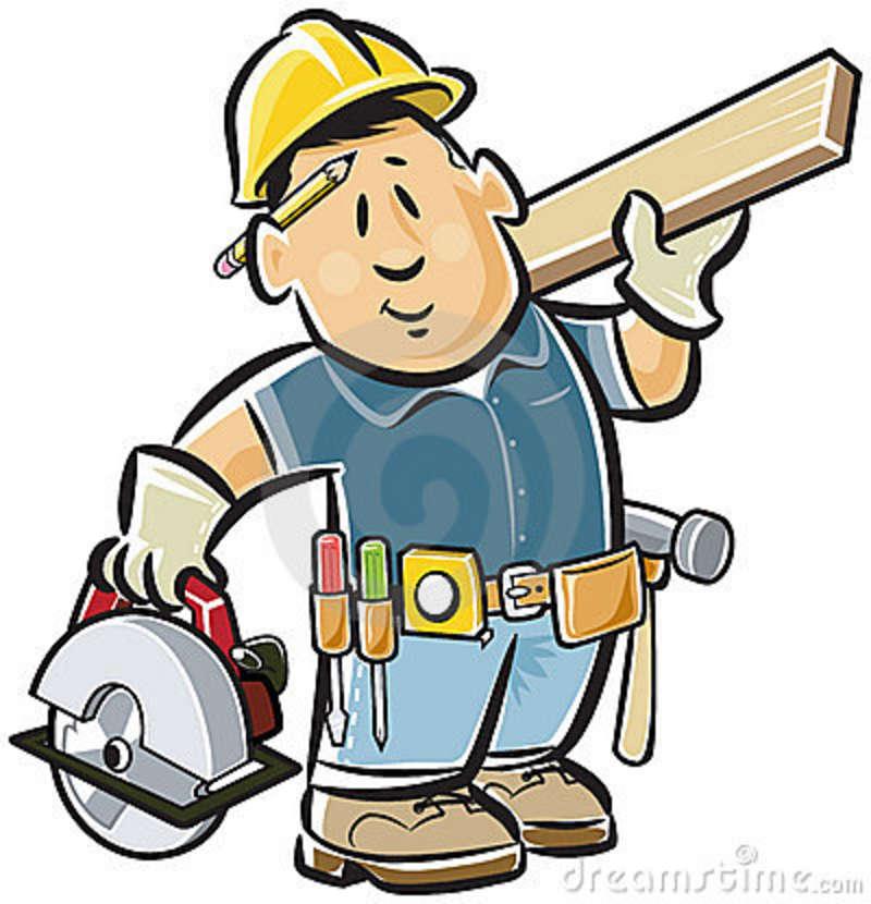 Handyman clipart. Clip art free online