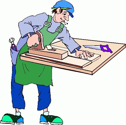 Carpenter clipart job. Letters free download clip