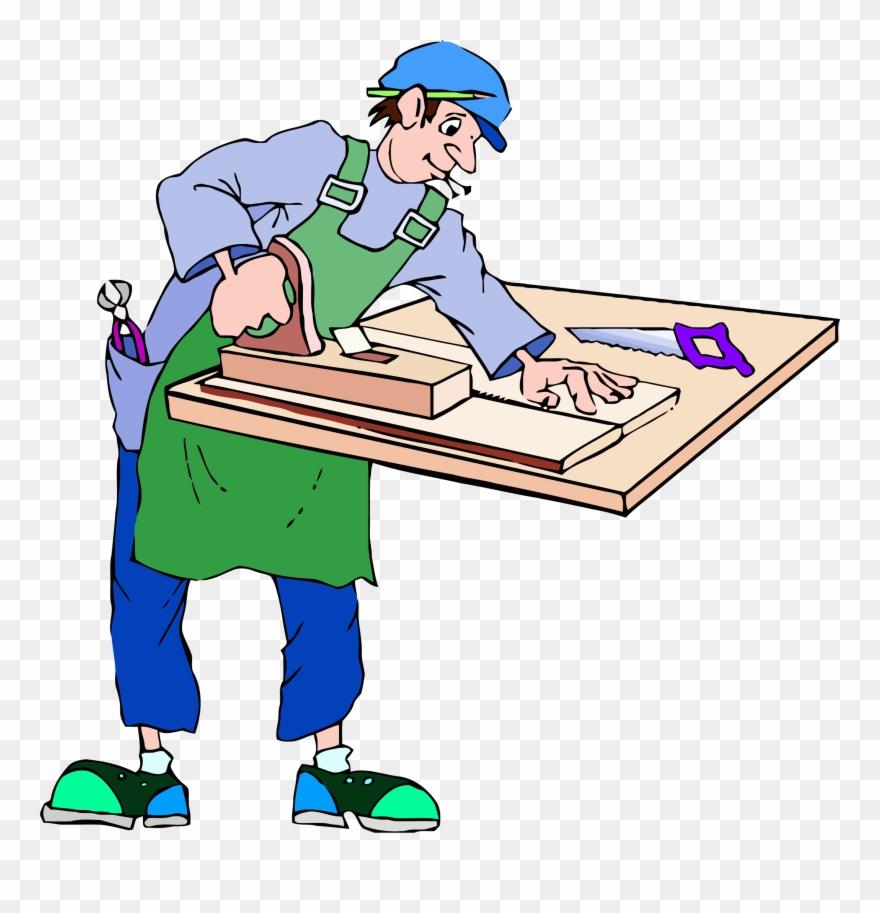 Builder clip art images. Carpenter clipart job