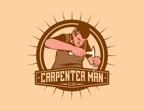Carpentry clipart builder. Carpenter free vector download