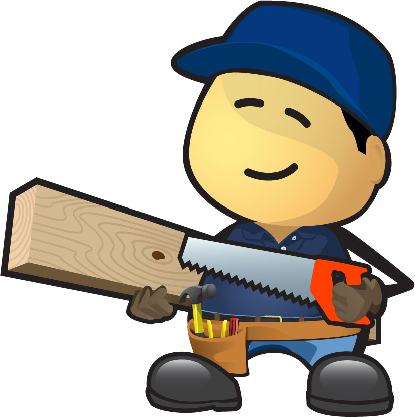 Clip art with popular. Carpenter clipart woodworking