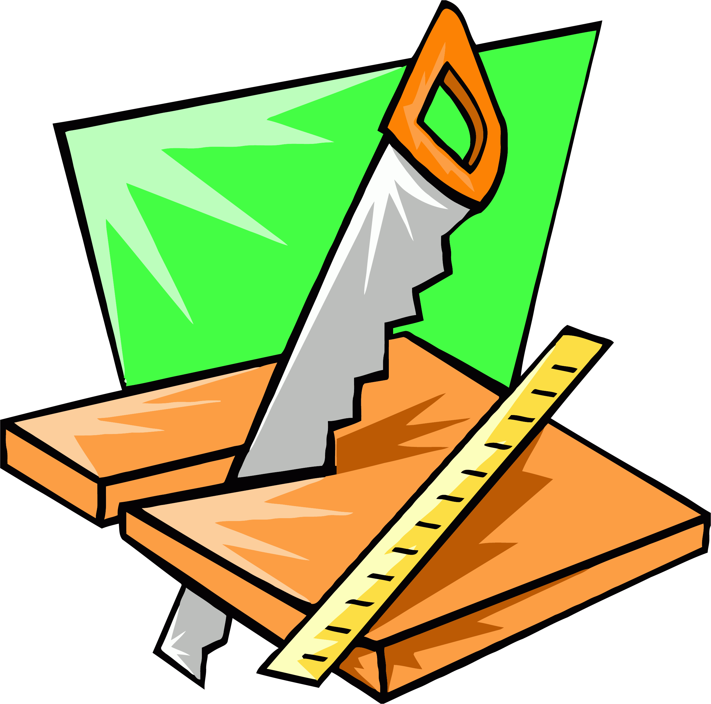 Working clipart working. Saw wood carpenter png