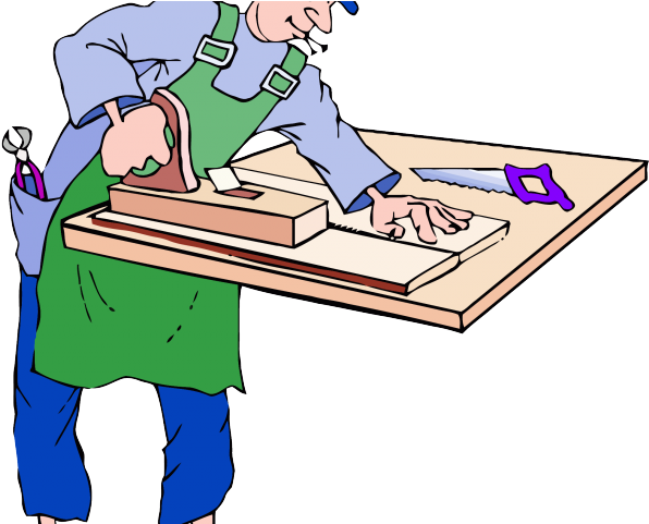Carpenter clipart work clipart. Download handyman at