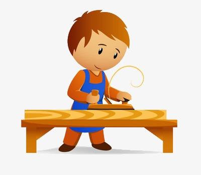Carpenter clipart work clipart. At fine process wood
