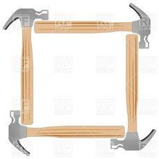 Carpentry clipart border. Tools clip art pinterest
