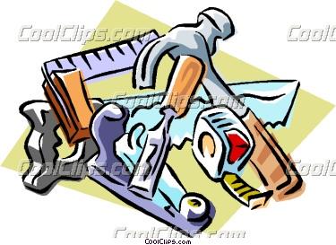 Carpenter clipart woodworking. Carpentry tools vector clip