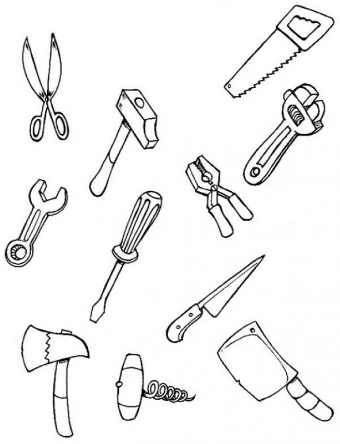Tools drawing at getdrawings. Carpentry clipart cobbler tool