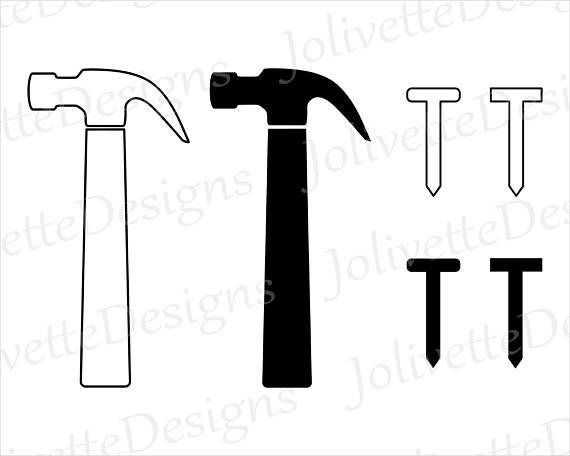 Nails tool carpenter clip. Carpentry clipart hammer nail