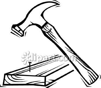 Carpentry clipart hammer nail. Com school edition demo