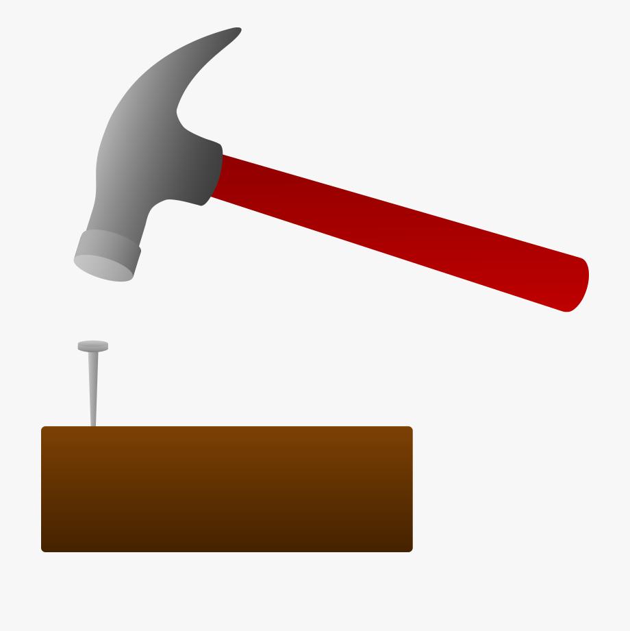 Clipart hammer hammer nail. Cliparts hammering a free
